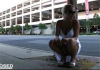 Pinkeln in der Öffentlichkeit Outdoor Piss Amateur