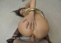 Luder auf Toilette anal gebumst